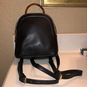 Black handbag/tiny backpack